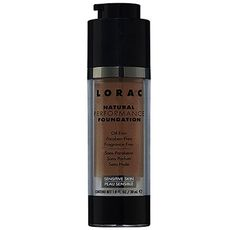7. #LORAC Natural #Performance Foundation - 13 Best Foundations for Oily Skin ... → #Makeup #Foundations