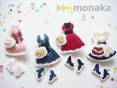 minne(ミンネ)| *party tonight*ドレスの刺繍ブローチ