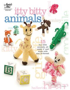 Itty bitty Animals Вязаные игрушки - 110485152107956042649 - Álbuns da web do Picasa