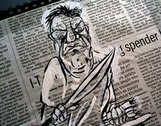 "Check out new work on my @Behance portfolio: ""Newspaper Illustrations""…"