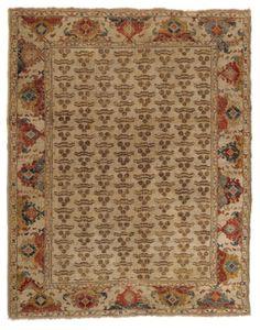 Tschintamani carpet, 128 x 161 cm, 16th-17th century. Franz Bausback at TEFAF 2016 © TEFAF Maastricht, 2015