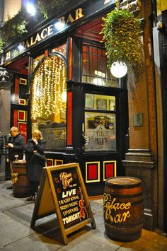 Pub in Dublin, Ireland where that drunk old man yelled at me because he did not believe i wasn't British :) Good times