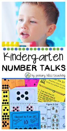 These Kindergarten Number Talks are highly effective, NO PREP, and are guaranteed to keep your students highly engaged day after day. First Grade Lessons, Teaching First Grade, First Grade Math, Teaching Math, Grade 1, Number Talks Kindergarten, Kindergarten Lessons, Math Lessons, Math Fact Practice