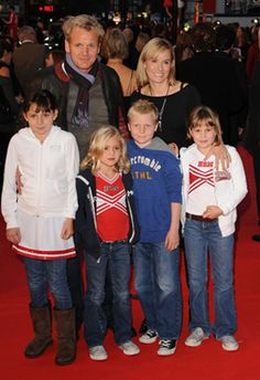 Gordon Ramsay & Family