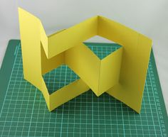 ~~~Directions for a Tri-Fold Card