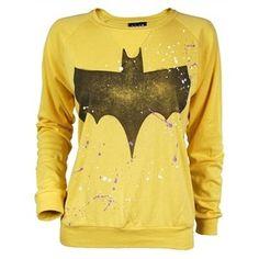 Ladies Batman Paint Jersey by Junk Food  svpply.com