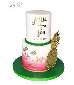 Call or email to order your celebration cake today. Click the link below for more information. Decorating Tips, Cake Decorating, Pineapple Watercolor, Cakes Today, Fondant Cakes, Celebration Cakes, Dessert Table, Special Day, Hawaiian