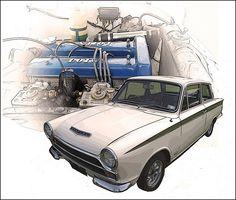 Mk1 Lotus Cortina (1966)