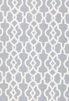 Fabric | Summer Palace Fret in Wisteria | Schumacher