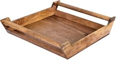Handmade Wood Serving Tray Ottoman Tray with Craft Bar Handles Mango Wood Home Décor Large Square Serving Trays With Handles, Wooden Serving Trays, Serving Platters, Cross Cut Sled, Personalized Cheese Board, Meat Fruit, Ottoman Tray, Wood Cutting Boards, Charcuterie Board