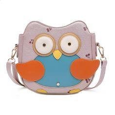 Inleela New Arrival Cute Penguin Bag Small Fashion Cartoon Shoulder Bag Candy Color Girls Messenger Bag Lovely Cherry Bag