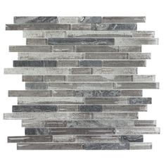 Found it at Wayfair - Palisades Random Sized Glass Mosaic Tile in Gray