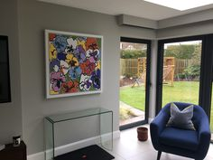 Gallery Rouge - Rachel Tighe Abstract Floral Painting