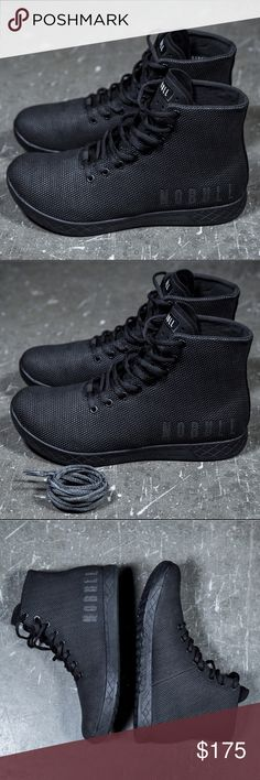 the latest 492f2 86a6b NOBULL Black High Tops So I bought these on Black Friday and just got them  in