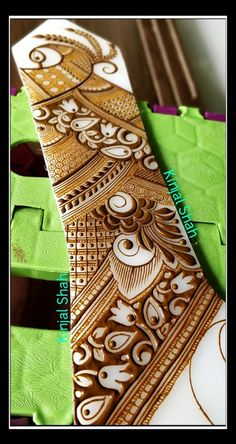For bookings and classes contact 09833887817 Peacock Mehndi Designs, Mehndi Designs Book, Indian Henna Designs, Legs Mehndi Design, Stylish Mehndi Designs, Dulhan Mehndi Designs, Wedding Mehndi Designs, Mehndi Design Pictures, Beautiful Mehndi Design