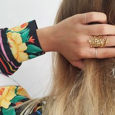 Back in stock! The Loop ring by Pernille Lauridsen will make a standout addition to your personal collection of rings. Starting at 124kr on Joli, get it while it's hot!! #backinstock #jolicph #pernillelauridsenjewellery #handcrafted #danskdesign #geometry #boho #ring #gold #handmade #sharingeconomy #dansksmykkekunst #guld #smykker #dagensoutfit