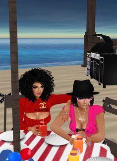 Gia and I
