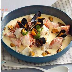 Blanquette aux deux poissons et aux moules recette pas chère
