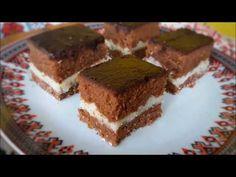 Prajitura de Post cu Crema de Fulgi de Cocos - YouTube Jacque Pepin, Tiramisu, Deserts, Candy, Ethnic Recipes, Nicu, Youtube, Coconut Cream, Sweets