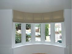 roman blinds in bay windows pinterest - Google Search
