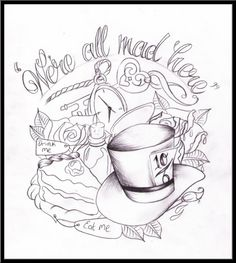 Would like something like this :) all it needs is the Cheshire cats face!!!!!