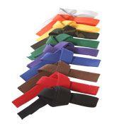 ATA taekwondo belts