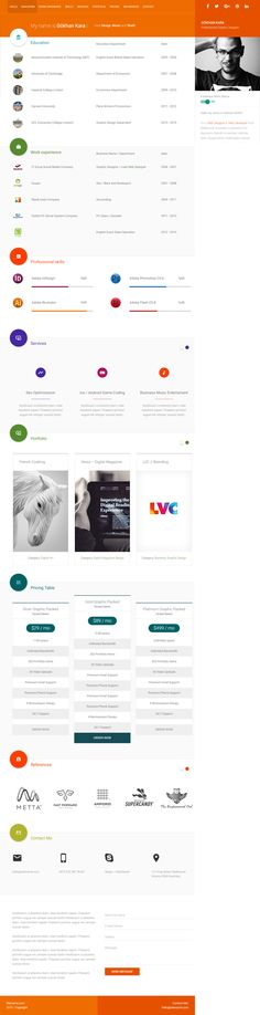 Nantes is a free responsive HTML5 Bootstrap one page website - bootstrap resume template