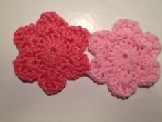 Two joined and finished flowers