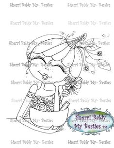This is for the black and white line art digi stamp only.You may use the images to create and sell handmade/colored cards and projects; please give credit to *Sherri Baldy* for the image used in the project or product.****What I ask: Please do not *redistribute*, *share*, *duplicate*, *re-sell*, or *copy* any of my digi doodle stamp images.********Please do not post them online except as part of a project (i.e., card, scrapbook demo, project you created etc.).****NOTE Color Image not…