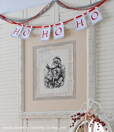 DIY Santa Claus Picture