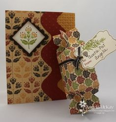 Autumn Spice DSP (turn card side ways for bag topper)