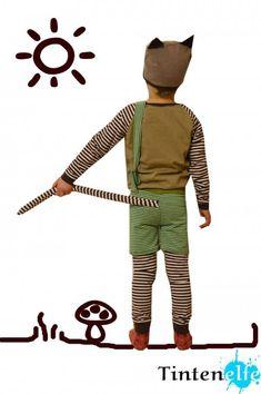 Sewing for Kids - A Findus Costume - DIY Karneval - halloween schminke Sewing For Kids, Diy For Kids, Cool Kids, Baby Halloween Costumes, Baby Costumes, What Is Halloween, Modern Dance Costume, Sewing Stitches, Little Boys