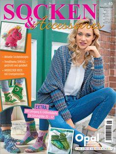 Socken & Accessoires mit Opal-Wolle Nr. 45/2017 Starten Sie mit der neuen Kollektion von Opal® Pullover- und Sockenwolle in die neue Stricksaison Herbst/Winter 2017/18! Die Garne mit den wunderschönen Farbzusammenstellungen inspirieren zu tollen Strickideen, die diese Zeitschrift vorstellt. Natürlich sind Socken für die ganze Familie dabei, aber auch Shrugs - einmal gestrickt und einmal gehäkelt - die unter dem Schlagwort Seelenwärmer gerade mächtig Furore machen. Außerdem gibt es das…