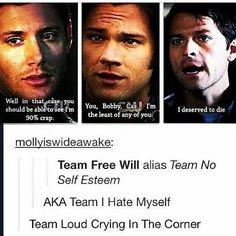 Supernatural Quotes, Supernatural Tv Show, Winchester, Do Homework, Super Natural, Destiel, Superwholock, Nerdy, Fangirl