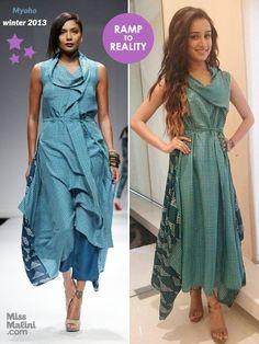 Shraddha Kapoor in Myoho Chic Outfits, Fashion Outfits, Fasion, Fashion Clothes, Kurta Designs, Dress Designs, India Fashion, Woman Fashion, Ethnic Kurti