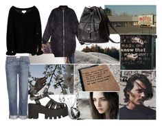 """Untitled #653"" by bringmethesykes321 ❤ liked on Polyvore featuring Issue 1.3, Paige Denim, R13, Windsor Smith and H&M"