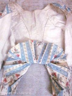 Pierrot en taffetas chiné à la branche | Villa Rosemaine