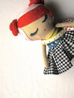 Custom Classic Cloth Doll by Mend by MendbyRubyGrace on Etsy