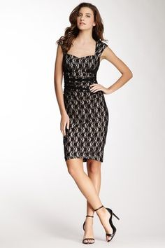 HauteLook | $49 & Under: Maggy London Sweetheart Neck Sheath Dress
