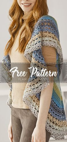 Crochet Mitts, Crochet Scarves, Crochet Yarn, Easy Crochet, Crochet Clothes, Free Crochet, Crochet Shrugs, Crochet Tops, Crochet Wrap Pattern