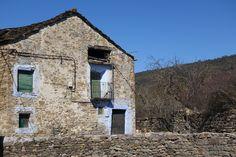 Una de las casas de Sarratiás