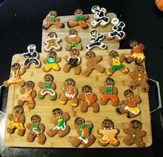 Ninjabread Cookies in skirts.