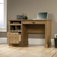 Bowerbank Computer Desk with 2 Storage Drawers   Joss & Main