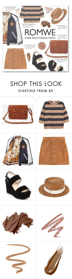"""""""Romwe Brown Style"""" by josi-heart ❤ liked on Polyvore featuring MANGO, Beautiful People, Emilio Pucci, Prada, Bobbi Brown Cosmetics, Laura Mercier and Hourglass Cosmetics"""