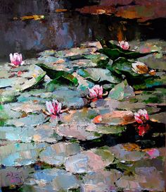 "alexi zaitsev | Zaitsev Alexi, ""Lilyes"", canvas, oil, 60x50 cm, 2012"