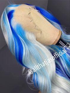 Frontal Hairstyles, Baddie Hairstyles, Weave Hairstyles, Ponytail Styles, Curly Hair Styles, Natural Hair Styles, High Fashion Hair, Creative Hair Color, Multicolored Hair