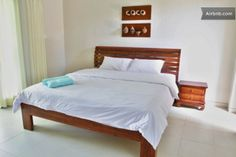 king size bed in Coco bedroom