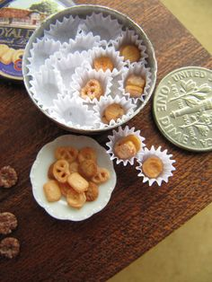 Snowfern Clover - miniature foods 1:12 and BJD scales