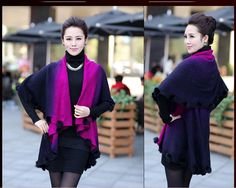 Exquisite Butterfly Sleeve Wrap. Looks Gorgeous!