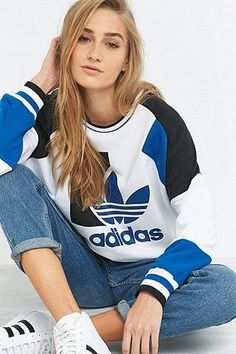 adidas - Sweat de course ample vintage - Urban Outfitters